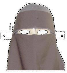 The Mariner's Official Niqab Mask